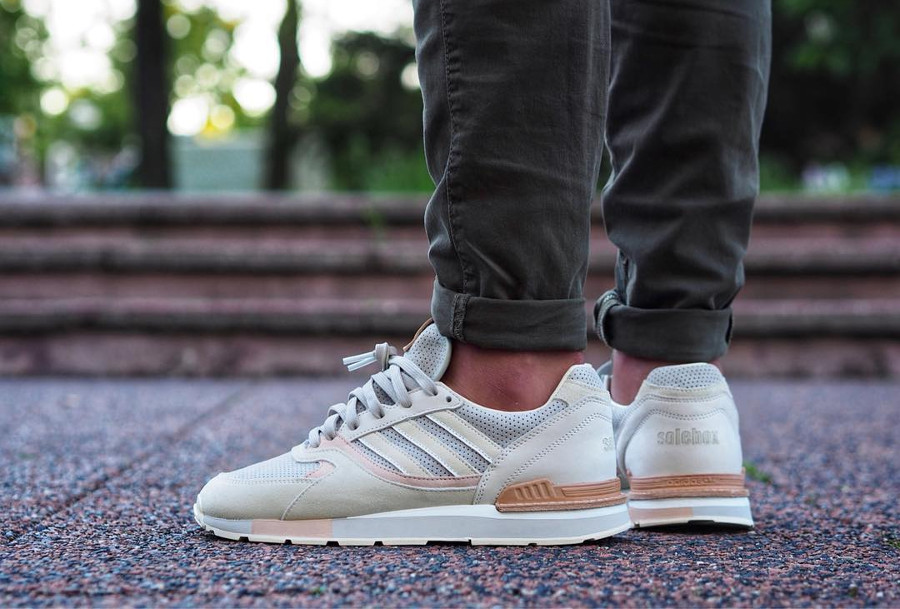 Solebox x Adidas Quesence 'Italian Leather Pack'