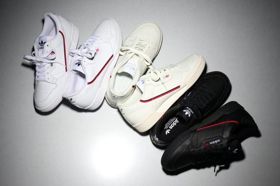 Adidas Originals Continental 80 'White, Black & Beige'