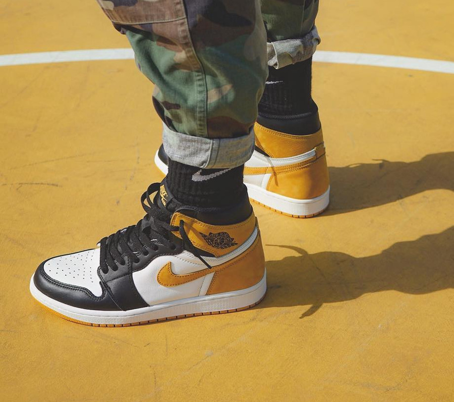 Air Jordan 1 High Retro Yellow Ochre - @keisuke4523
