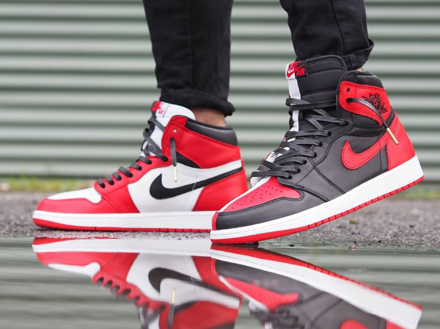 Air Jordan 1 High Retro Homage To Home - @rquinnn