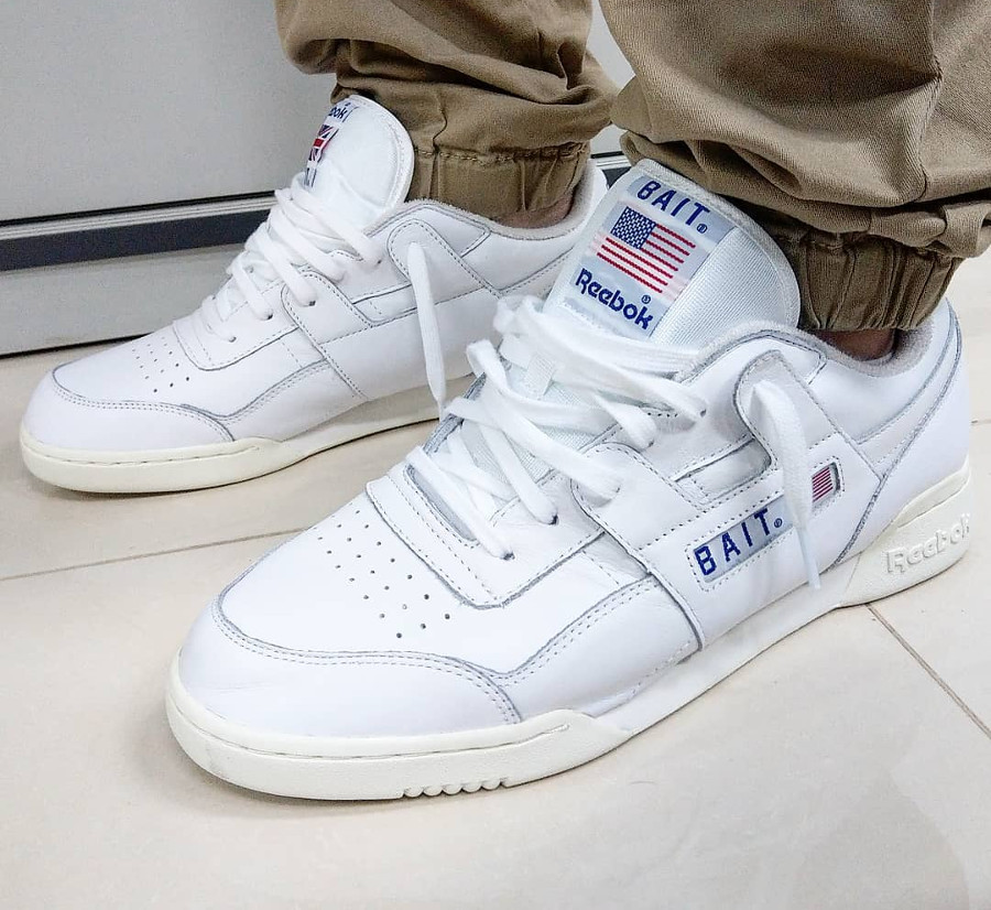 Bait x Reebok Workout Plus West East - @k3vinq