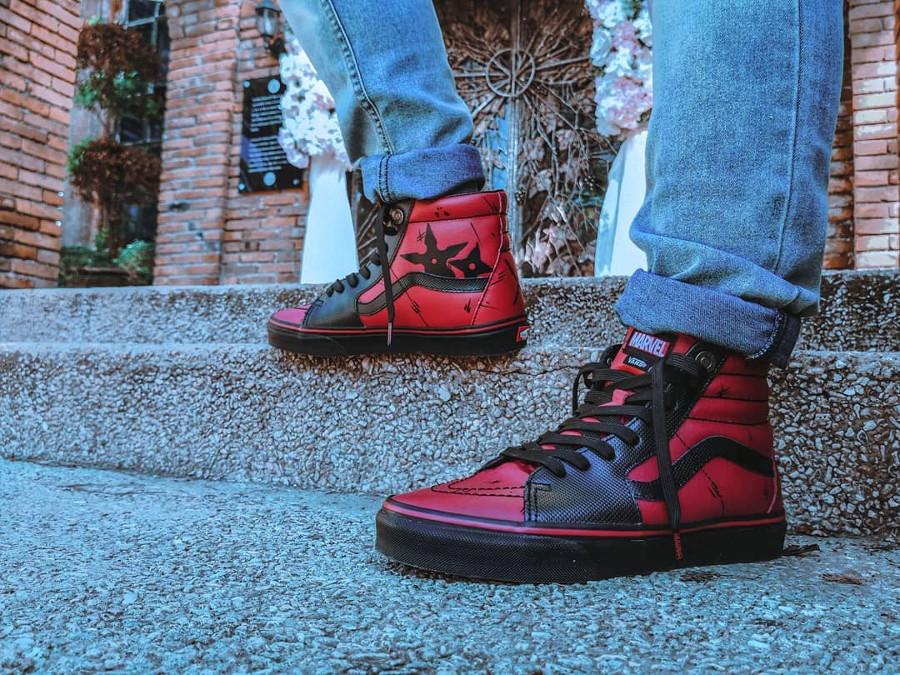Deadpool x Vans SK8 Hi - @edmarrrr04