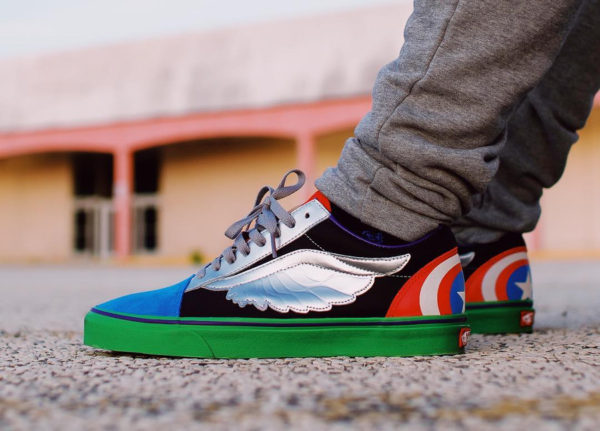 Marvel x Vans Old Skool Avenger - @decortez_