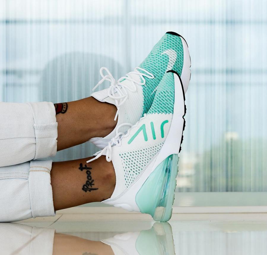 Nike Wmns Air Max 270 Flyknit Igloo - @cubi_klk