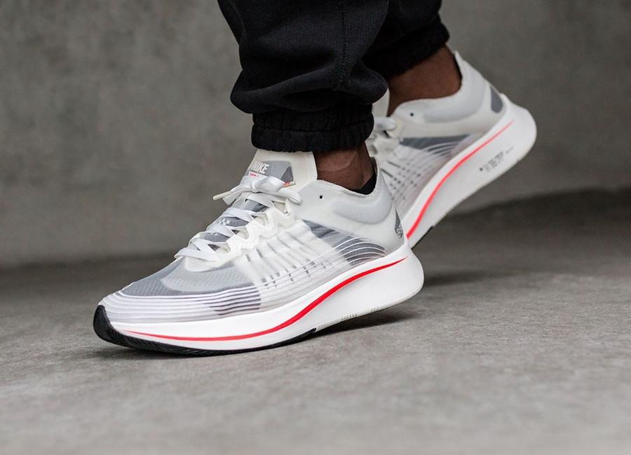 Nike Zoom Fly SP 'Breaking2 Anniversary' White Bright Crimson