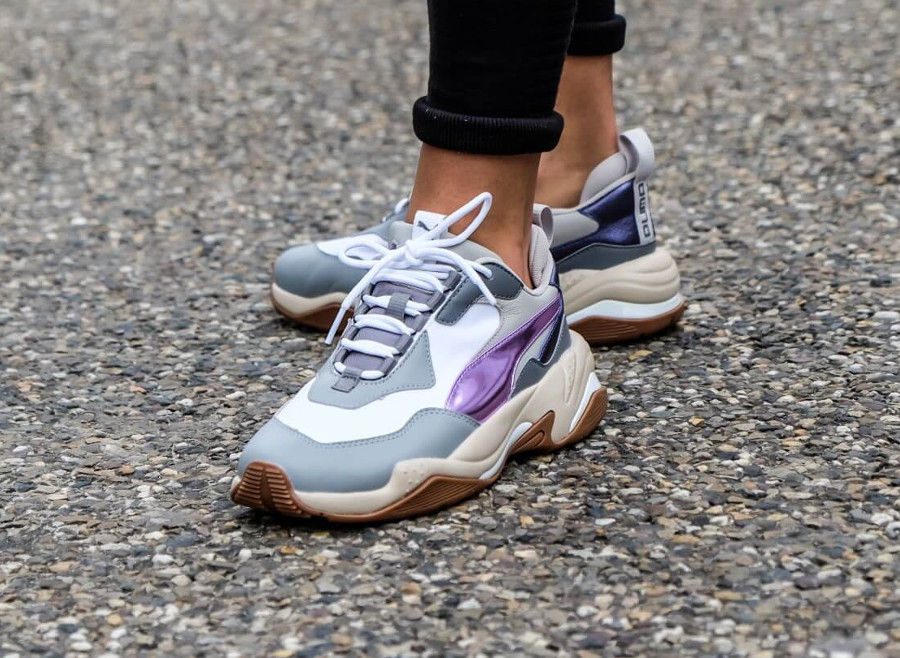 Puma-Womens-Thunder-Electric-White-Pink-Lavender-Cement-on-feet-0367998-01 (2)