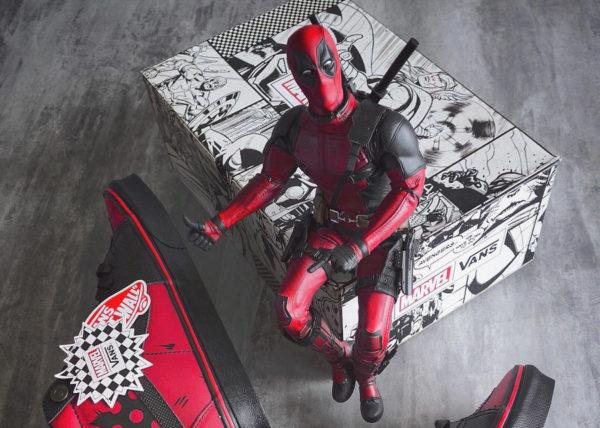 Marvel x Vans SK8 Hi 'Deadpool'