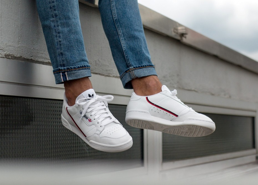 adidas-continental-80-white-scarlet-navy- B41674 (1)