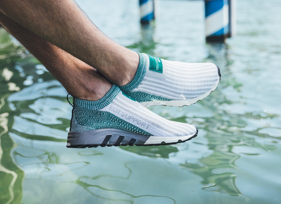 Adidas Equipment Support SK Slip On Primeknit 'Sub Green'