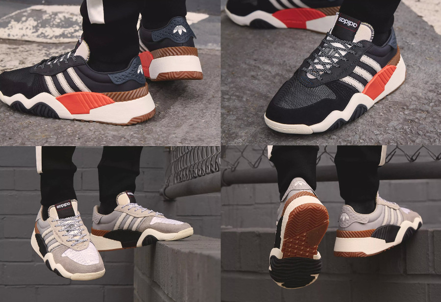 Alexander Wang x Adidas Turnout Trainer Boost 'Core Black & Light Brown'