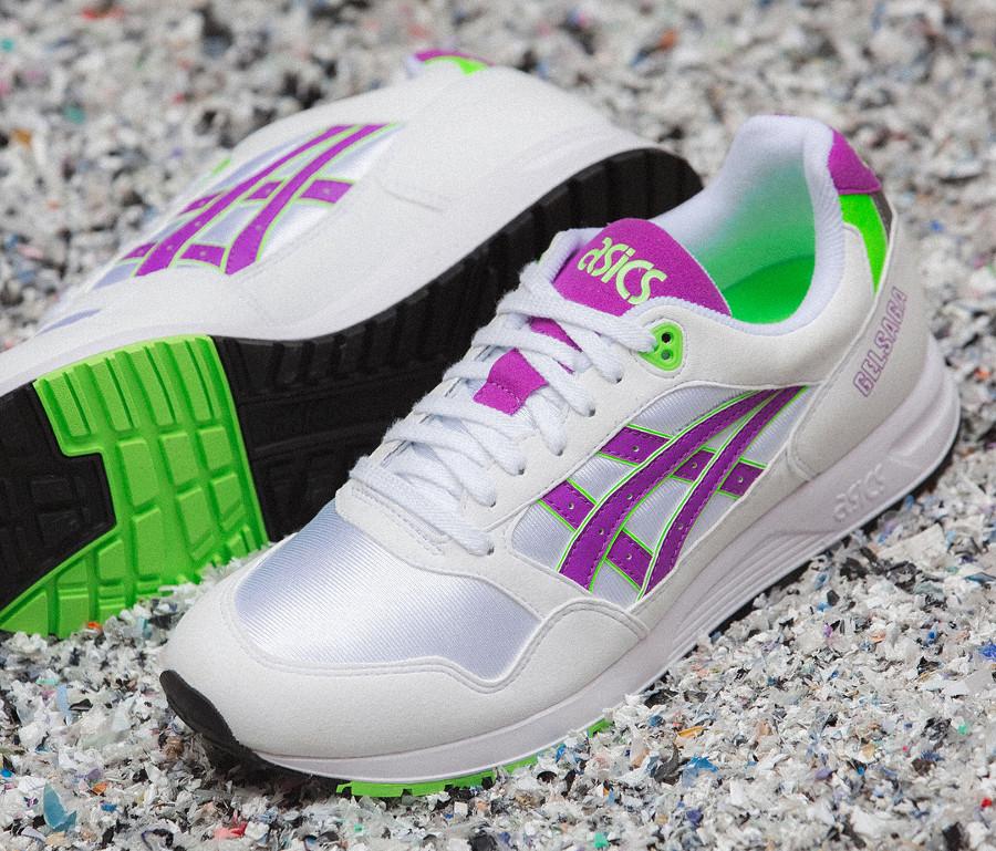 asics-gel-saga-original-1991-blanche-violette-vert-fluo-1193A071-100 (1)
