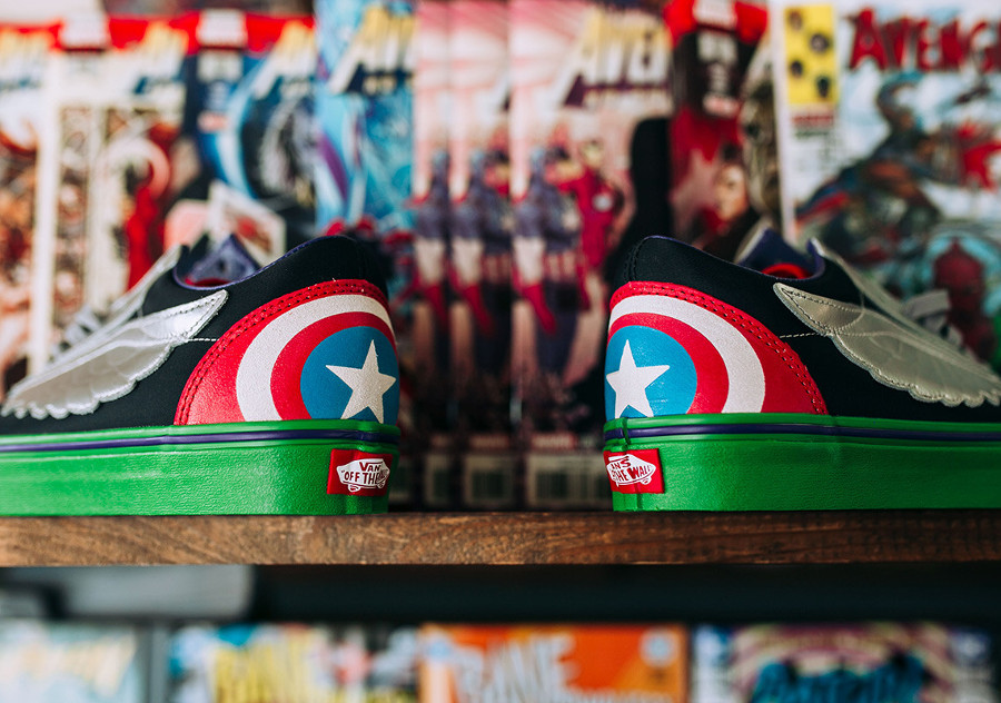 La collection Marvel x Vans : 8 baskets passées à la loupe