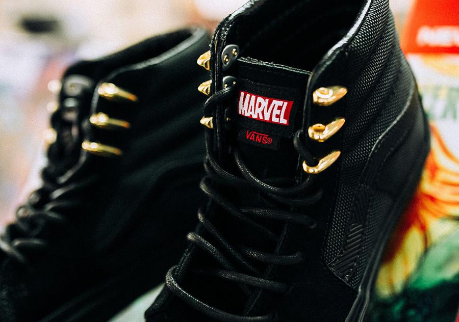 avengers-vans-sk8-hi-noire-black-panther-oeillets-dorés-VA38GEUBH (2)