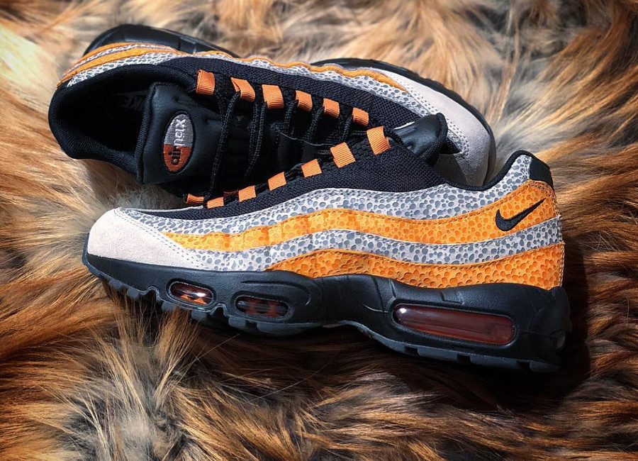 Size? x Nike Air Max 95 'What The Safari'