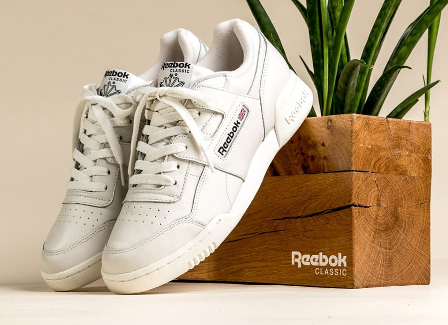 Reebok Workout MU 'Vintage Chalk Black'