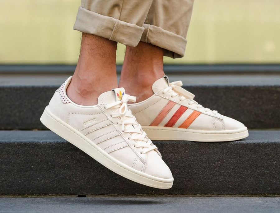 Review : Adidas Campus 80's Pride 'Multicolor Stripes' on feet