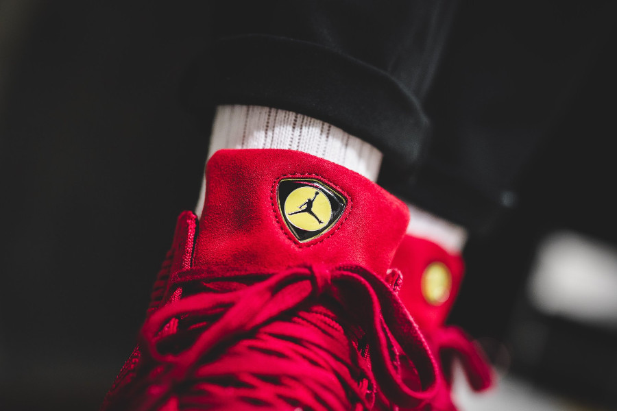 Air Jordan Flyknit Elevation 23 'Ferrari' University Red