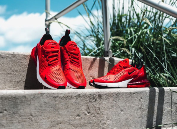 Que vaut la Nike Air Max 270 rouge Habanero Red ?