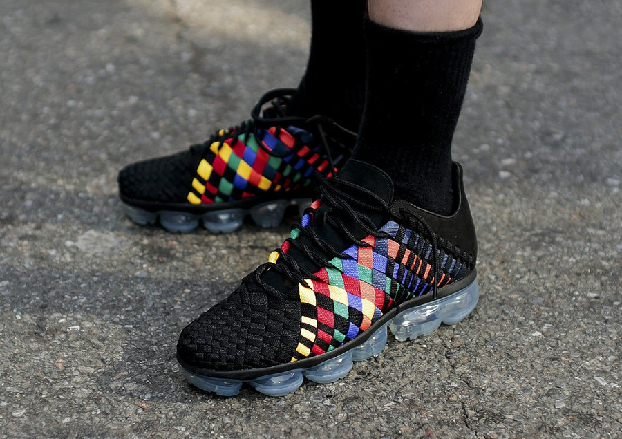 Nike Air VaporMax Inneva Woven 'Black Multicolor'