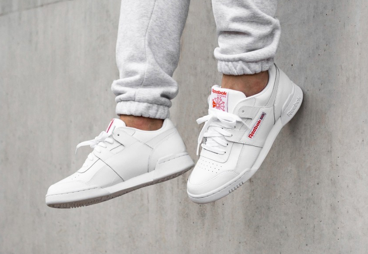 Reebok Workout Plus MU 'White Bright Lava'