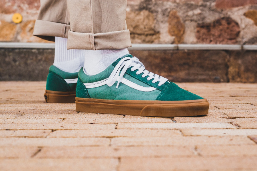 Vans Old Skool 'Duck Green Gum Sole'