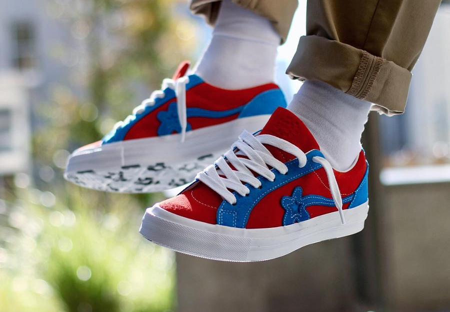 Tyler The Creator x Converse Golf Le Fleur 2018 : 4 coloris inédits