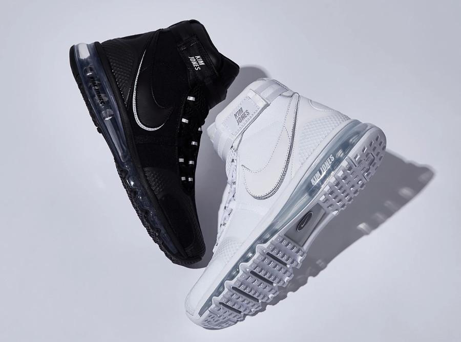 Kim Jones x Nike Air Max 360 High 'White & Black'