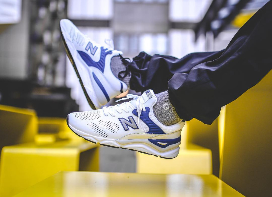 New Balance X-90 'White Navy Blue'