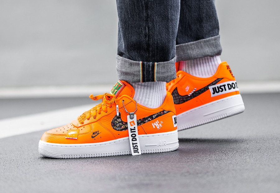 Comment acheter les Nike Air Force 1 '07 PRM JDI Just Do It ?