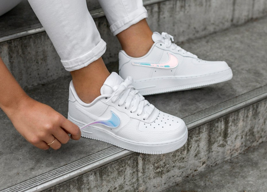 Comment Acheter La Nike Air Force 1 Low 1 100 Velcro Logo