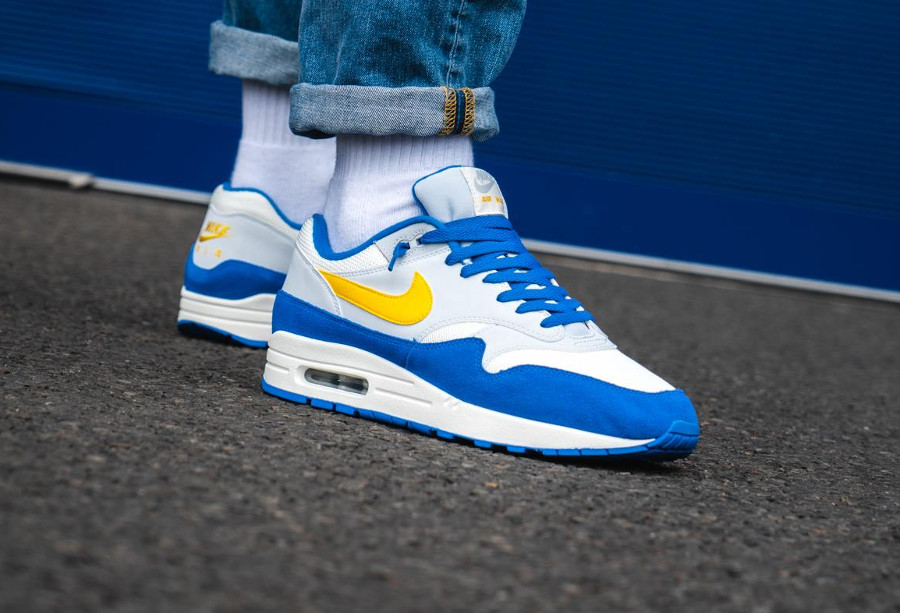 Nike Air Max 1 'Signal Blue' (collection juillet 2018)