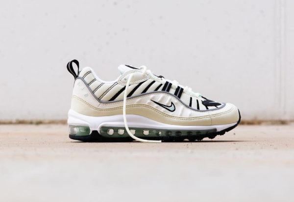 chaussure-nike-air-max-98-fille-crème-vert-menthe-AH6799-105 (2)