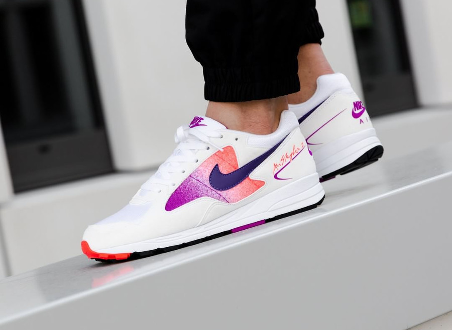 Nike Air Skylon II OG 'White Court Purple' rétro 2018
