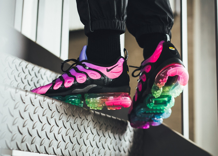 Nike Air Vapormax Plus 'Be True' Purple Pulse Pink Blast
