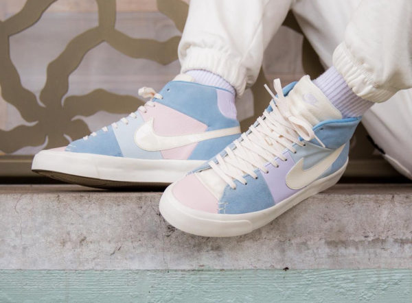 Review   Nike Blazer Royal Easter QS Spring Patchwork Arctic Pink on ... 579bf47fb