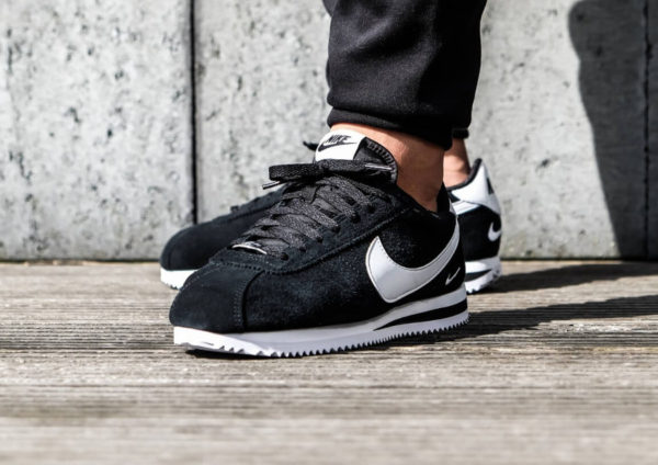 Nike Cortez Basic SE Suede 'Black White'