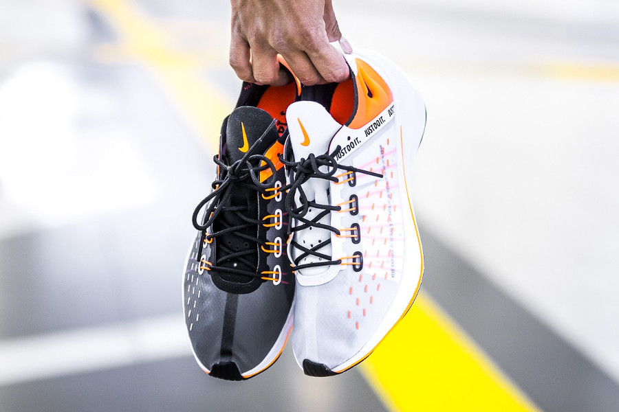Nike EXP-X14 'Just Do It' Black & White Total Orange
