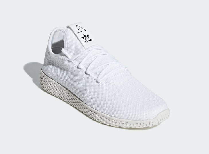 sortie Pharrell Williams x Adidas Tennis HU White Chalk