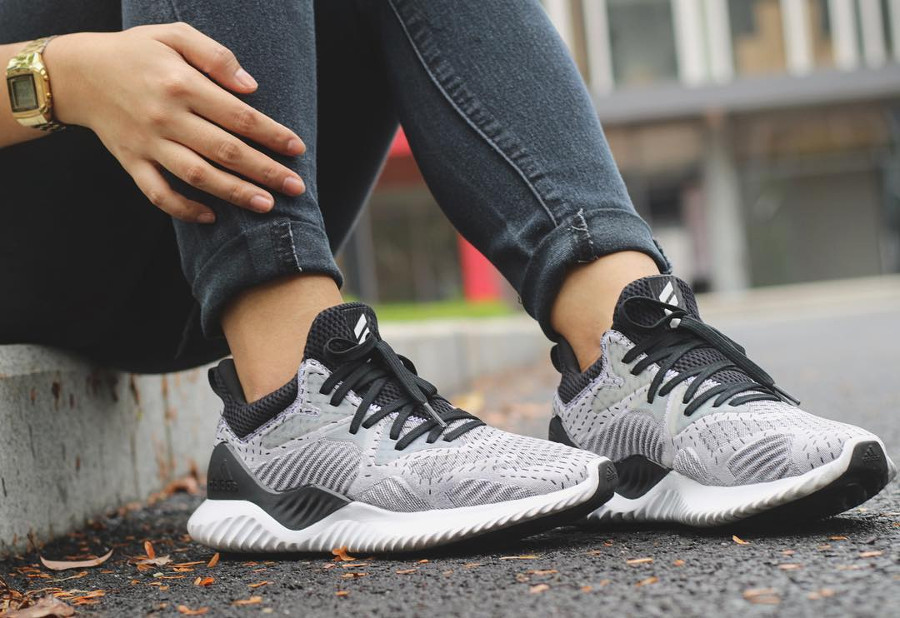 Adidas Alphabounce Beyond Gray Black - @vinessacruz