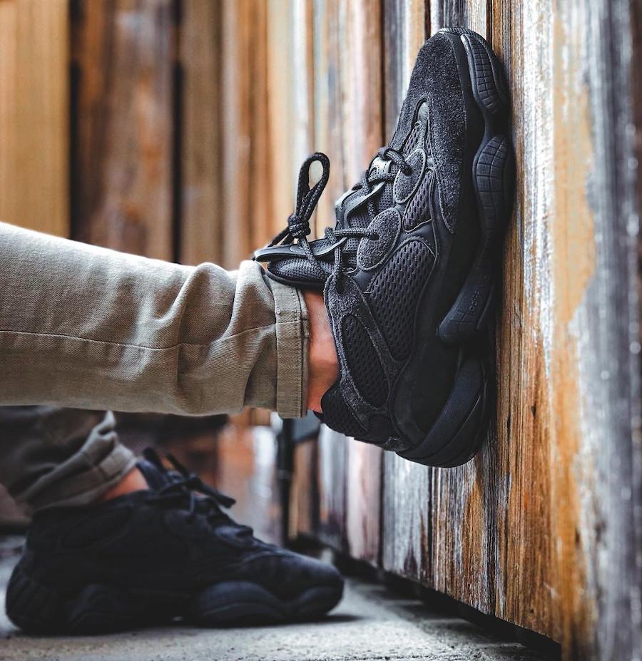 Adidas Yezzi 500 toute noire (1)