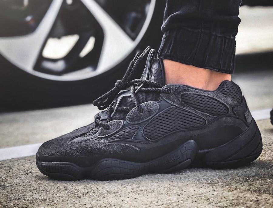 Adidas Yezzi 500 toute noire (3)