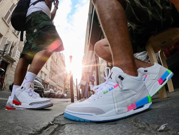 Air Jordan 3 Retro Quai 54 Friends and Family - @ceasarsalade