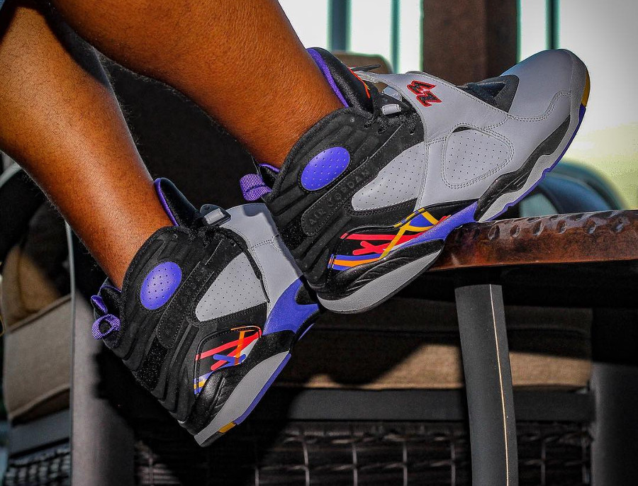Air Jordan 8 Retro Phoenix Suns - @dreday_kickz
