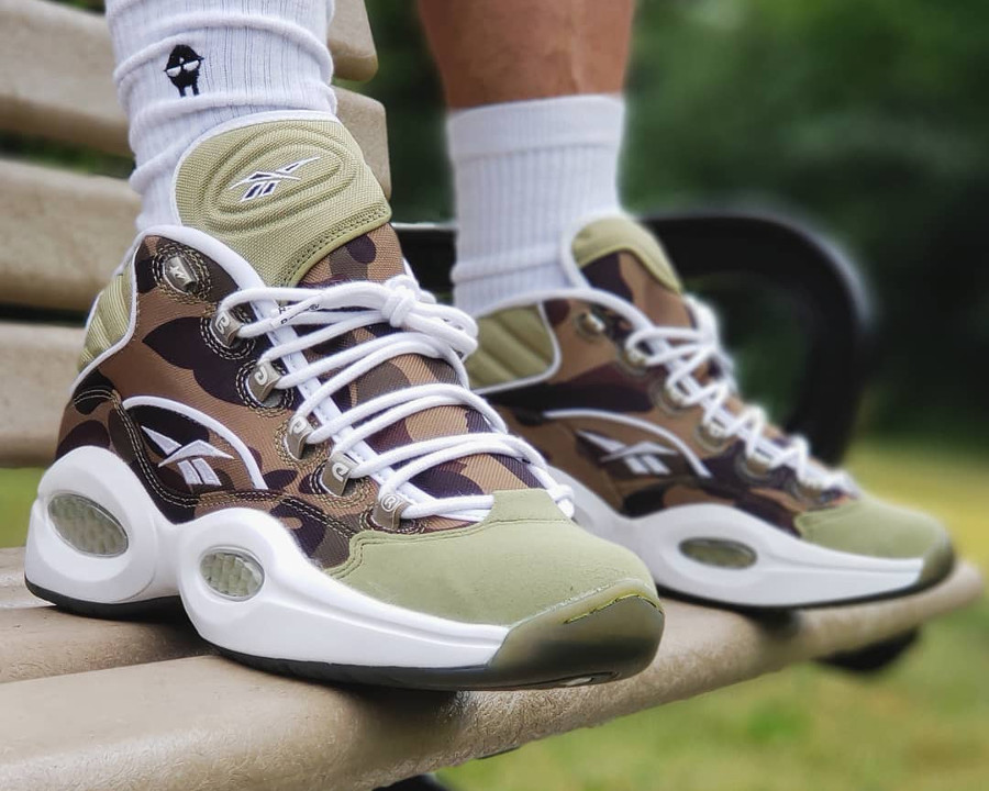Bape x Reebok Question Mid - @flippinlaces