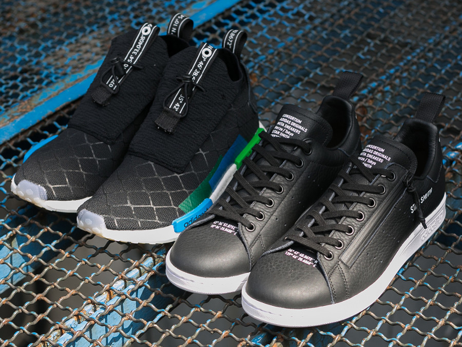 Le pack Mita Sneakers x Adidas Consortium 'Cages and Coordinates'