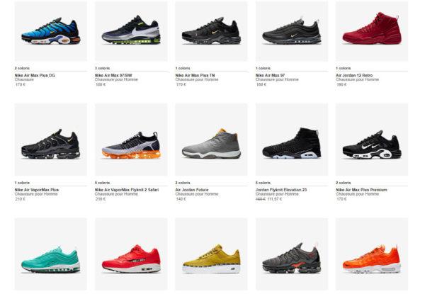 Nike Pas cher Cyber Monday 2018