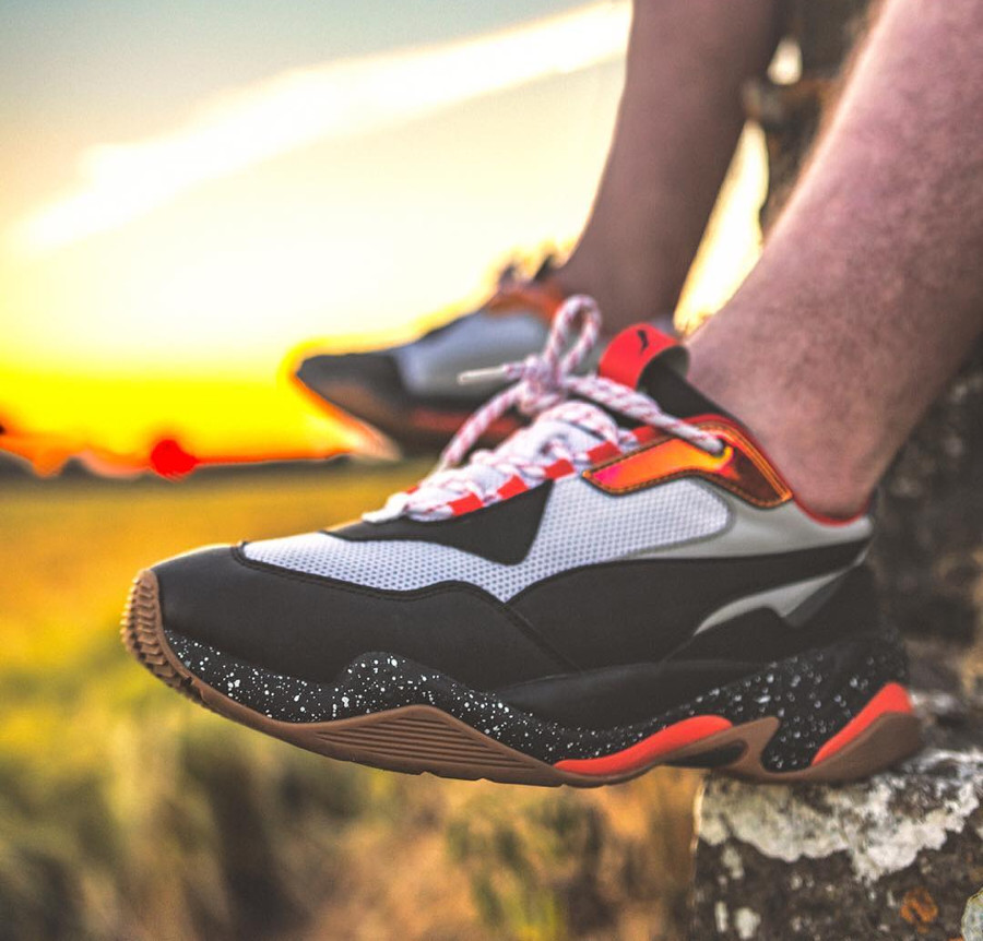 Puma Thunder Electric Mandarine Red - @poghain