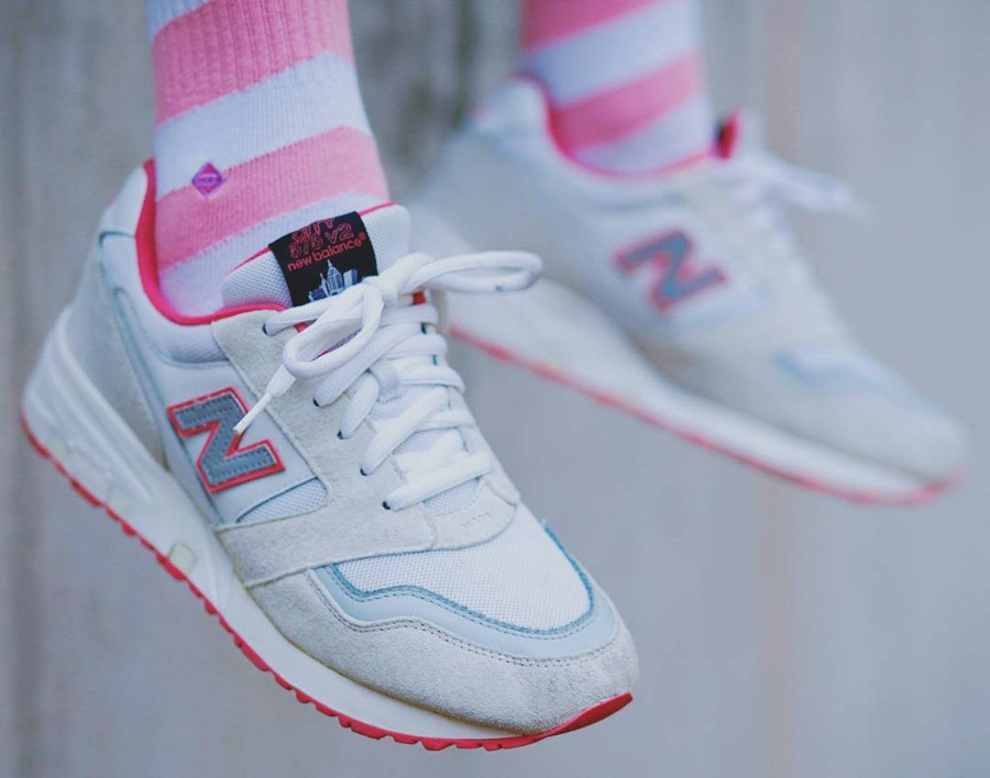 Staple x New Balance 575 White Pigeon - @tugend_laster