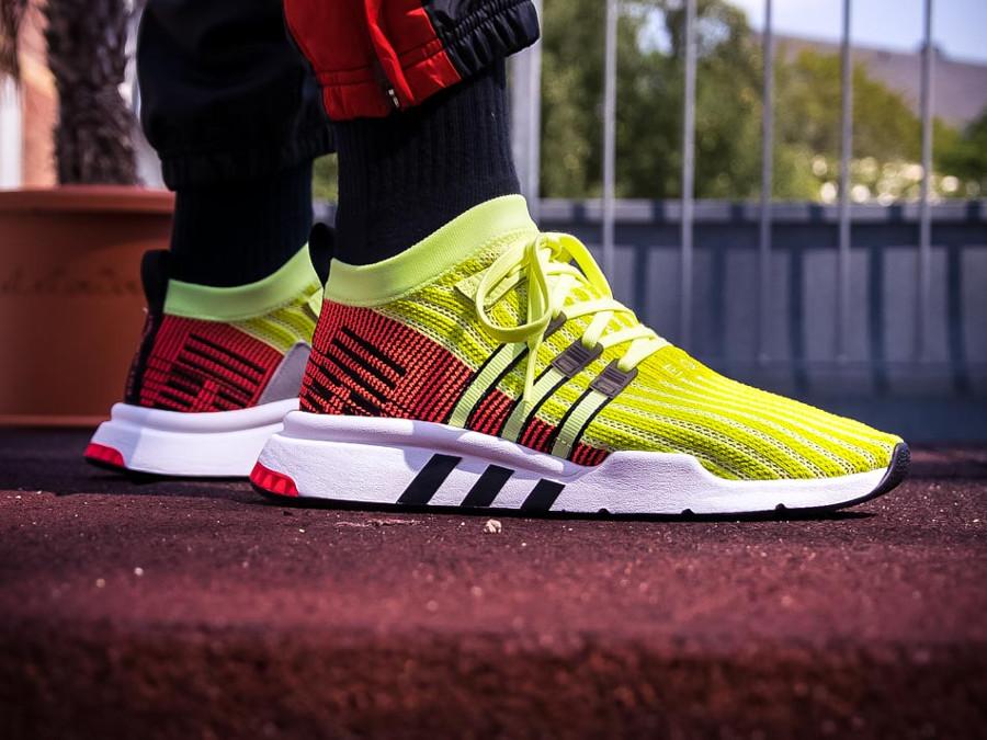 adidas-equipment-adv-primeknit-adv-neon-yellow-on-foot-B37436 (4)