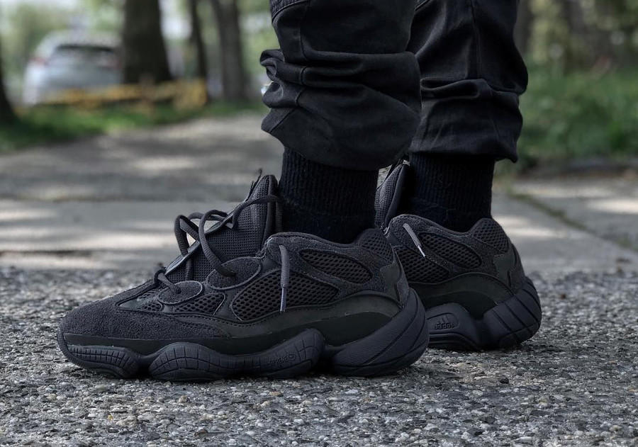 Kanye West x Adidas Yeezy 500 Triple Black